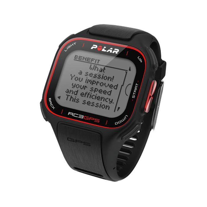 POLAR (ポラール) RC3 GPS HR ハートレートセンサー付き トレーニングコンピューター ブラック 【自転車】 (POLAR20151110)
