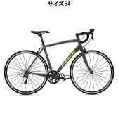 FUJI(フジ) 2016年モデル SPORTIF スポルティフ 2.1 ダーク グレー/シトラス サイズ54 完成車 【ロードバイク】【自転車】