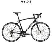 FUJI(フジ) 2016年モデル SPORTIF スポルティフ 2.1 ダーク ブラック/ホワイト サイズ46 完成車 【ロードバイク】【自転車】