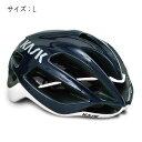 KASK(カスク) PROTONE ネイビーブルー/ホワイト サイズL ヘルメット 【自転車】