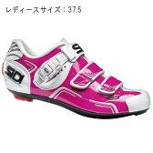 SIDI(シディ) LEVEL フューシャ/ホワイト サイズ37.5 レディース ビンディングシューズ 【自転車】