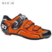 SIDI(シディ) LEVEL オレンジ/ブラック サイズ41 ビンディングシューズ 【自転車】