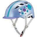 OGK (オージーケー) チャンプ ツゥインクルパープル 50-54cm未満 キッズヘルメット 【自転車】