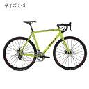 ロードバイク FUJI(フジ) 2016 CROSS 1.5 ライムグリーン サイズ48(160-168cm) 【アウトレット】