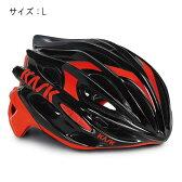 KASK(カスク) MOJITO ブラック/レッド サイズL ヘルメット 【自転車】