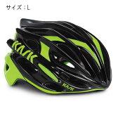 KASK(カスク) MOJITO ブラック/ライム サイズL ヘルメット 【自転車】