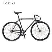 FUJI (フジ) 2017モデル FEATHER フェザー マットブラック サイズ49 完成車 【自転車】