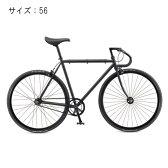 FUJI (フジ) 2017モデル FEATHER フェザー マットブラック サイズ56 完成車 【自転車】