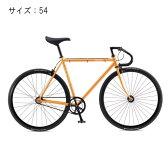 FUJI (フジ) 2017モデル FEATHER フェザー イエローゴールド サイズ54 完成車 【自転車】