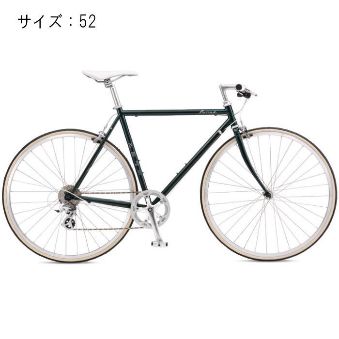 FUJI (フジ) 2017モデル BALLAD バラッド ブリティッシュグリーン サイズ52 完成車 【自転車】 【セーフティーメンテナンス1年間無料】おおいた