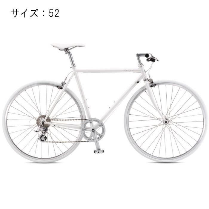 FUJI (フジ) 2017モデル BALLAD バラッド オーロラホワイト サイズ52 完成車 【自転車】 【セーフティーメンテナンス1年間無料】