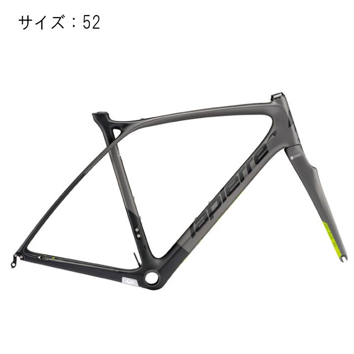 LAPIERRE(ラピエール) 2017モデル XELIUS SL Ultimate ブラック/グレー サイズ52 フレームセット 【自転車】 【セーフティーメンテナンス1年間無料】