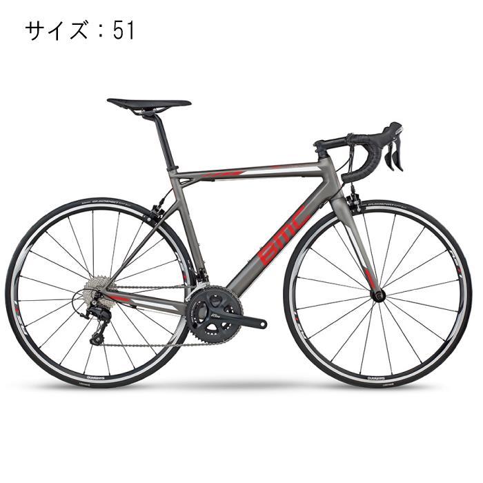 BMC (ビーエムシー) 2017モデル teammachine  SLR02 105 5800 グレイ/レッド サイズ51 完成車 【自転車】