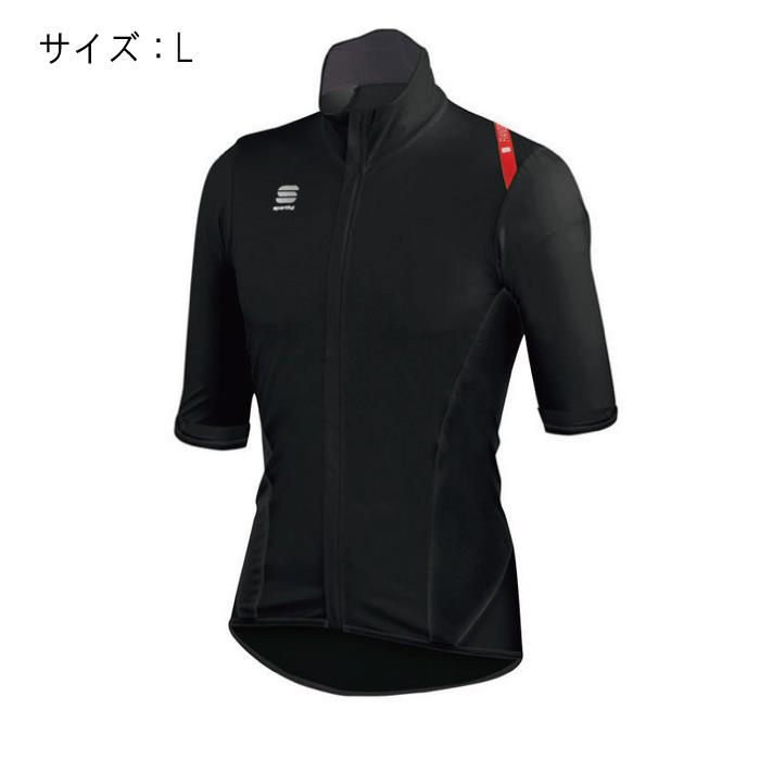 Sportful (スポーツフル) FIANDRE LIGHT NORAIN Short Sleeves ブラック サイズL ジャージ 【自転車】 ひろい