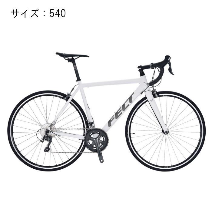 FELT (フェルト) 2017モデル F85 ホワイト サイズ540mm 完成車 【自転車】 【セーフティーメンテナンス1年間無料】