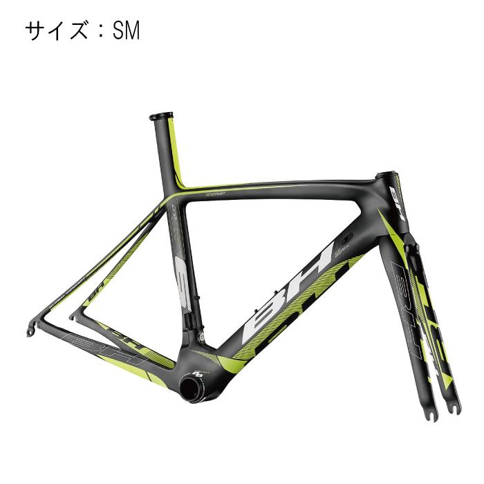 BH (ビーエイチ) 2016モデル G6 Pro ブラック/イエロー. サイズSM フレームセット 【自転車】