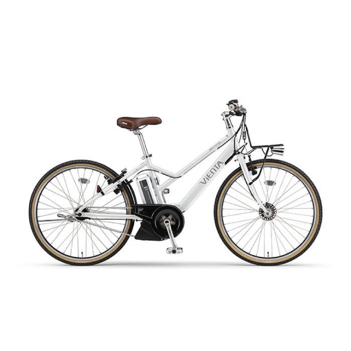2017年モデル PAS VIENTA5 パス ヴィエンタ5 26型 シルキーホワイト  電動アシスト 完成車 【電動アシスト自転車】