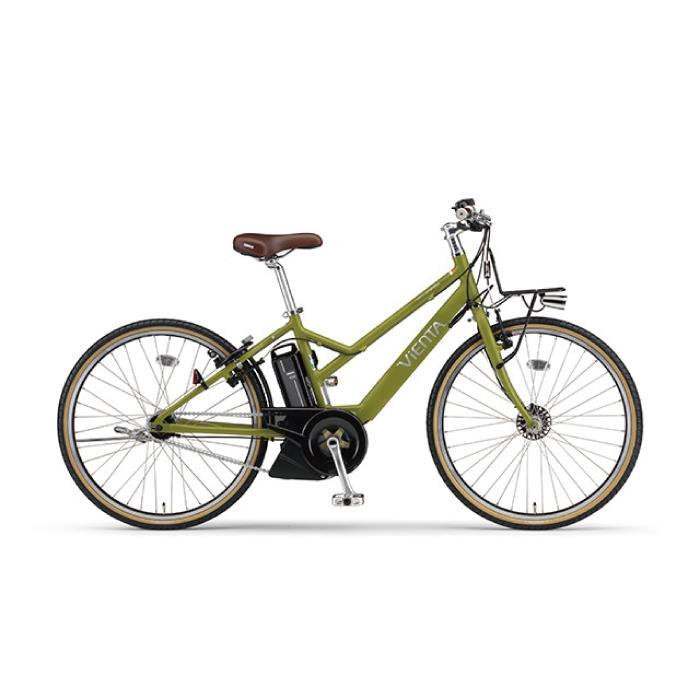 2017年モデル PAS VIENTA5 パス ヴィエンタ5 26型 マットリーフグリーン  電動アシスト 完成車 【電動アシスト自転車】【とやま】