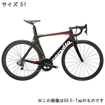 Cervelo (サーベロ)S5 DURA-ACE R9100 11S ブラック/レッド サイズ51 完成車【自転車】