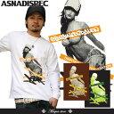 【ASNADISPEC/アスナディスペック】DOT GIRL TAPE TEE 長袖Tシャツ/as-1804r/3045/