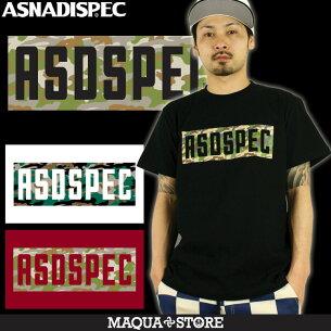 Tシャツ アスナディスペック ASNADISPEC ブラック ホワイト プリント