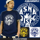Tシャツ メンズ 半袖 ティーシャツ アスナディスペック アスナ ASNADISPEC XL XXL