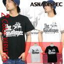 Tシャツ メンズ 半袖 ティーシャツ アスナディスペック アスナ ASNADISPEC XL XXL 2XL 3L 黒 ブラック 白 ホワイト プリント 大きいサイズ B系 ブランド 人気 アメカジ ストリート系 ファッション おしゃれ かっこいい /3045/ asst2207r
