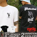 Tシャツ メンズ 半袖 ティーシャツ アイディー EYEDY 黒 ブラック 白 ホワイト プリント 大きいサイズ XL XXL ルード系 ブランド 人気 アメカジ 西海岸 ワーク ストリート系 おしゃれ かっこいい /3045/ id1008