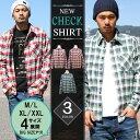 シャツ メンズ チェック コットンシャツ メンズシャツ ネルシャツ 長袖シャツ リアルコンテンツ REALCONTENTS ストリート系 ファッション