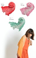 鮮やかなの空気を纏う。クリンクルグラデーションストール|アジアンファッション|エスニックファッション|サルエルパンツ|アジアン雑貨|レディース|メンズ|大きいサイズ|バレンタイン|5,400円以上送料無料|パーカー|ワンピース|マーライ|