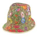 ショッピングgucci グッチ GUCCI 帽子 ハット レディース 花柄 アウトレット 6039884hi898477m 2021AW