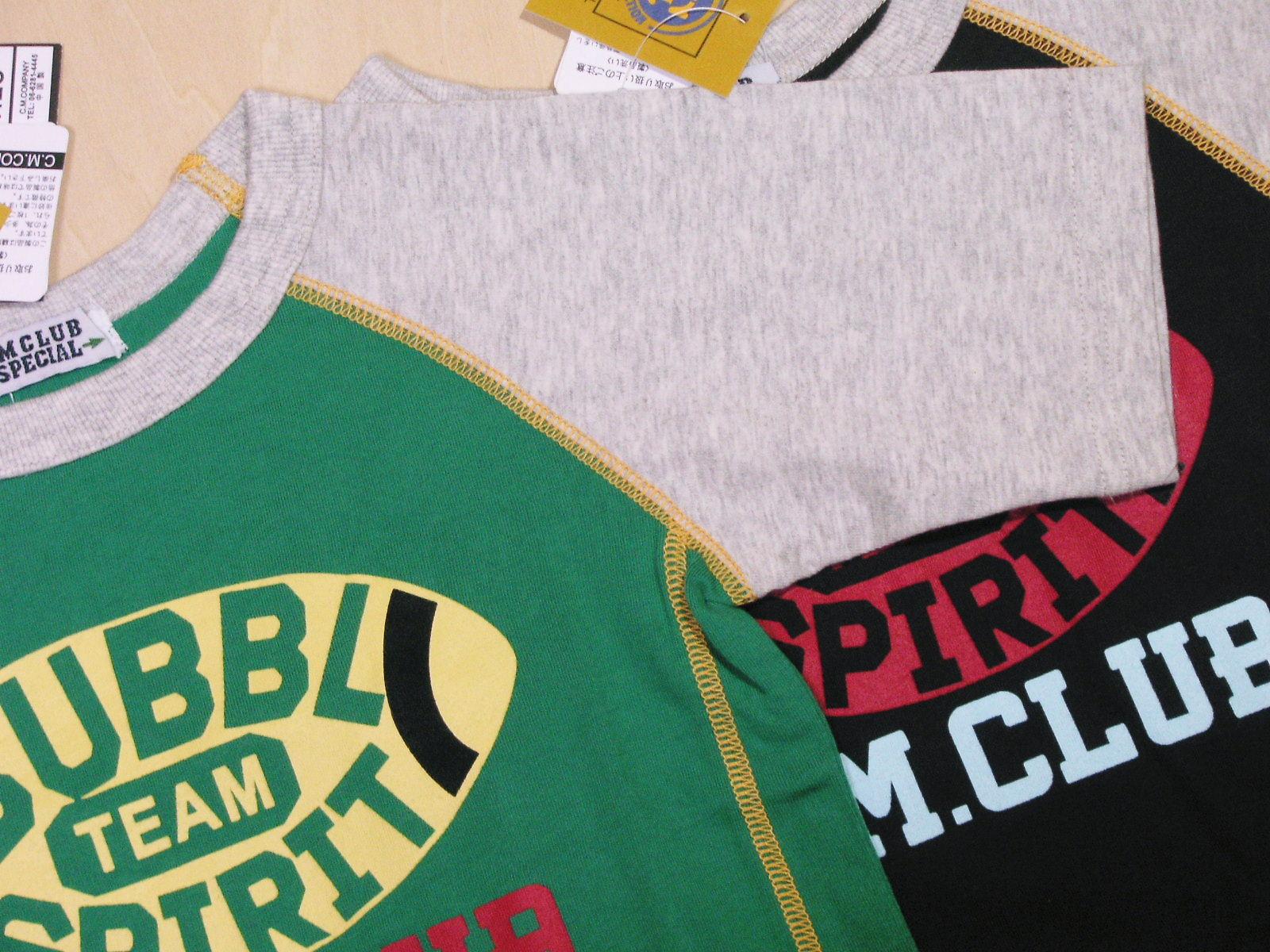 配色とバックプリントがかっこいいアメラグTシャツ!の紹介画像2
