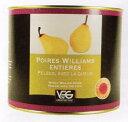 ポワール・ウィリアム(洋梨)のホール12個入り フランス コートリヨネ 2125g