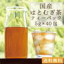国産 はとむぎ茶 ティーパック5g×40包【ネコポス 送料無料】[ハトムギ茶 はと麦茶 は