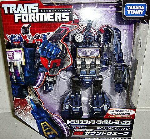 Transformers TF generations TG13 Soundwave & lazorbeak