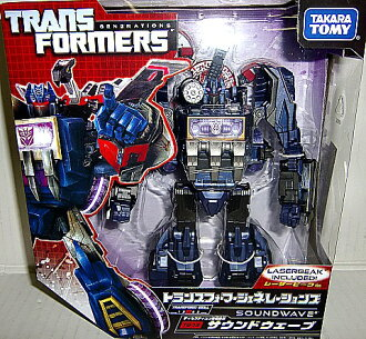 Transformers TF generations TG13 Soundwave & lazorbeak