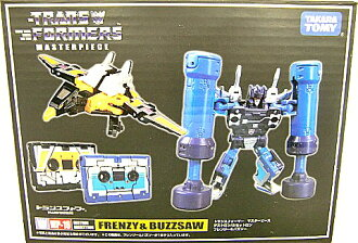 Transformers masterpiece MP16 フレンジー & buzz so fs3gm