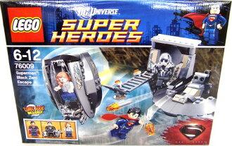 樂高英雄超人黑色零和逃避 76009