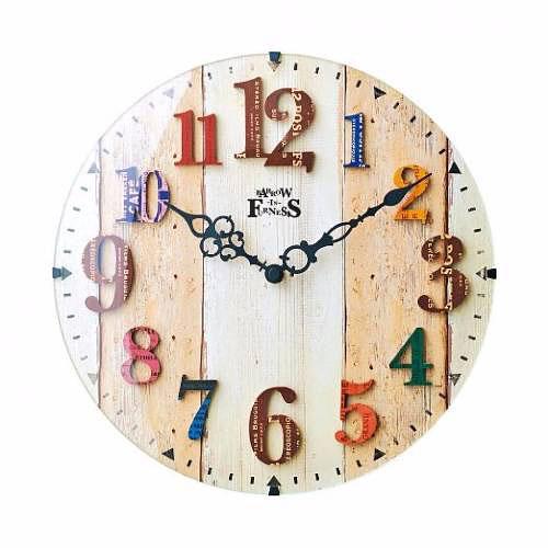 【ヴィンテージ テイスト】電波時計 お洒落 時...の紹介画像2