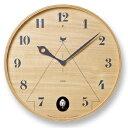 グラフィカルな巣箱のイメージしたお洒落時計 カッコー時計 鳩...