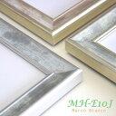 40×40cm角 正方形額縁 国産品【MH-E10J】3色(グリーン シルバー ゴールド(ベージュっぽい))から選べます。透きとおるような透明感。。 アクリル入り