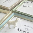 【Monaco (モナコ)】 A4サイズ 4色から選べます。ふんわりパステルカラー。。 ガラス入りウェルカムボードにおススメ!