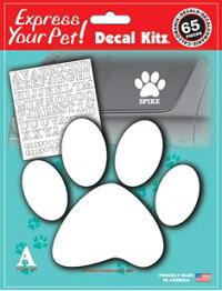 ���ƥå��������ƥ��å������å� ����/Pet Paw Decal Kit �������������������ꥫ����ե��٥åȤ�ͳ�˥쥤�����ȡ����ꥸ�ʥ�ڥåȥ��ƥå����������åȡ��������ޥ������ƥå���