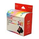 リ ジェット(ReJET) キヤノン(Canon)用 BC-341 FINEカートリッジ 3色カラー互換 リサイクルインク(EC341-CL)【リターン品】