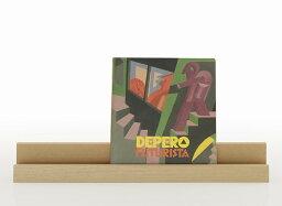 ブックスタンド ロング 木製(おしゃれ 卓上 本立て ブック立て 書見台 レシピスタンド ブックホルダー カタログスタンド パンフレットスタンド 資料スタンド ディスプレイスタンド)BS-01/マルゲリータ