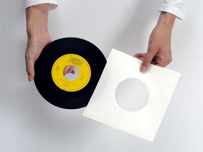 EPレコード内袋 紙製 両穴 100枚セット(...の紹介画像2