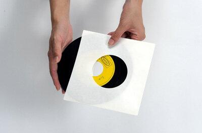 EPレコード内袋 紙製 両穴 100枚セット(...の紹介画像3