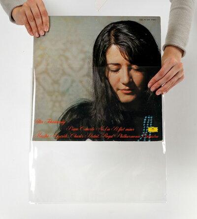 LPレコード外袋 PP製 透明 厚口 500枚...の紹介画像3