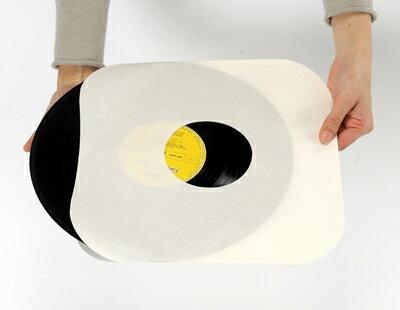 LPレコード内袋 紙製 両穴 角丸 100枚セ...の紹介画像2