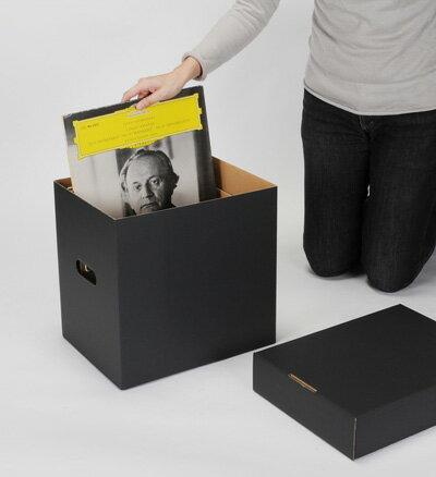 LP用蓋付きBOXセット 黒 5箱セット(LP用...の商品画像